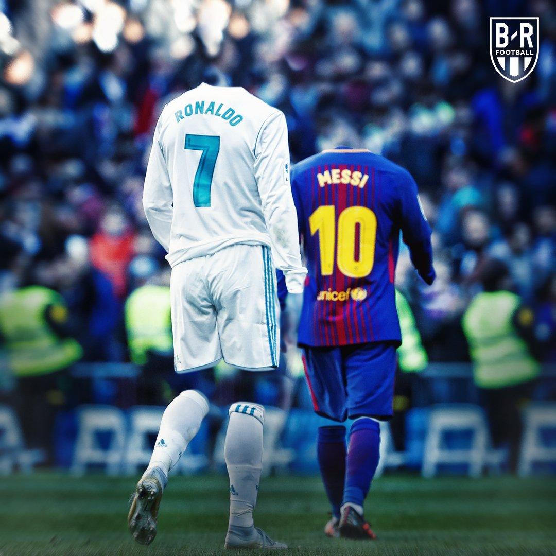 Um 'El Clásico' sem Messi e @Cristiano, ��sou eu assim sem você...��  Crédito: @brfootball https://t.co/Rfe8s5KYFb
