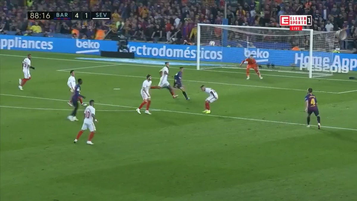 barcelona 4 2 sevilla la liga as it happened football the