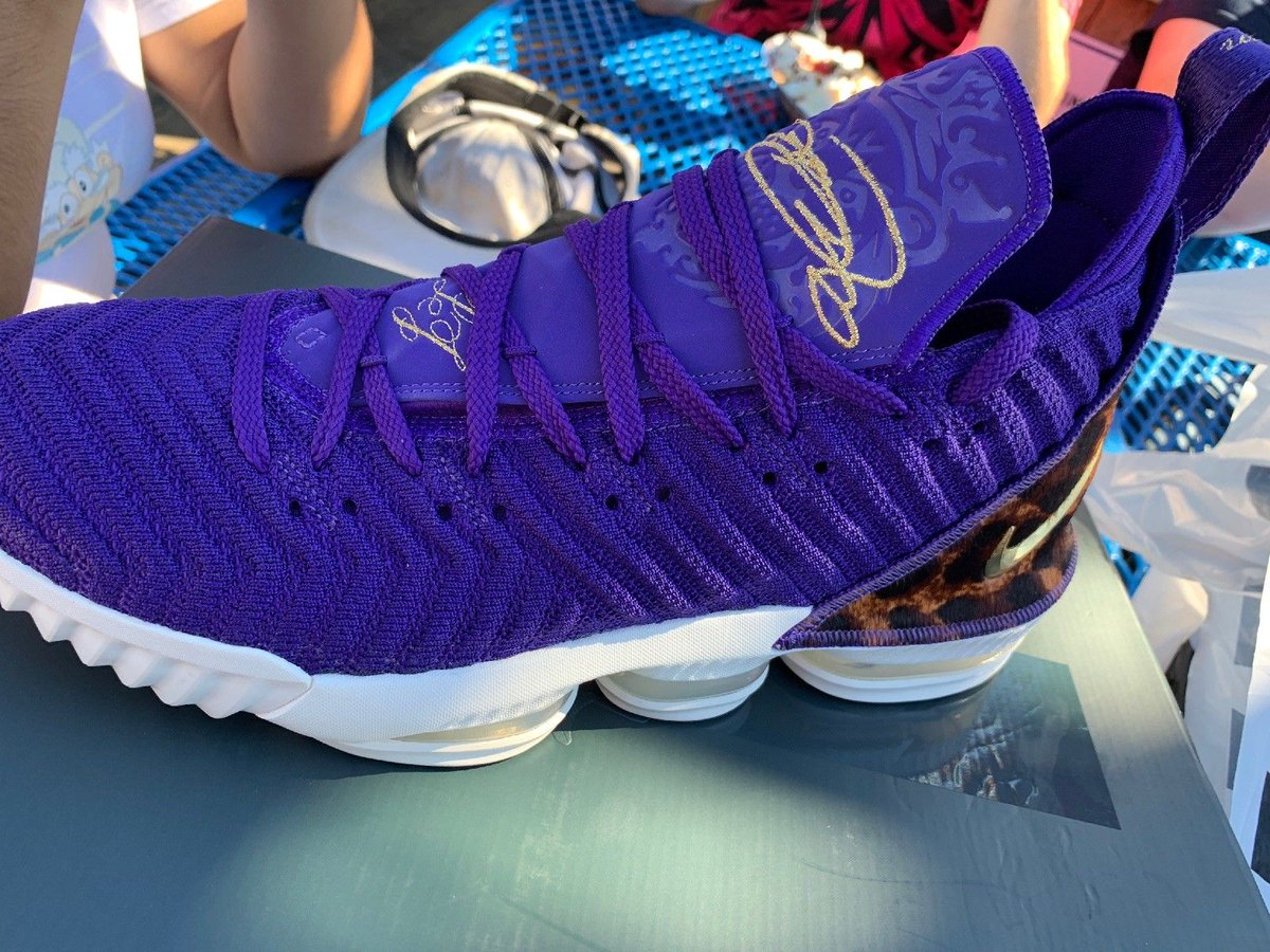 bae2af9d9a51 court purple nike lebron 16 king already hitting ebay prices range from 500  to 1500
