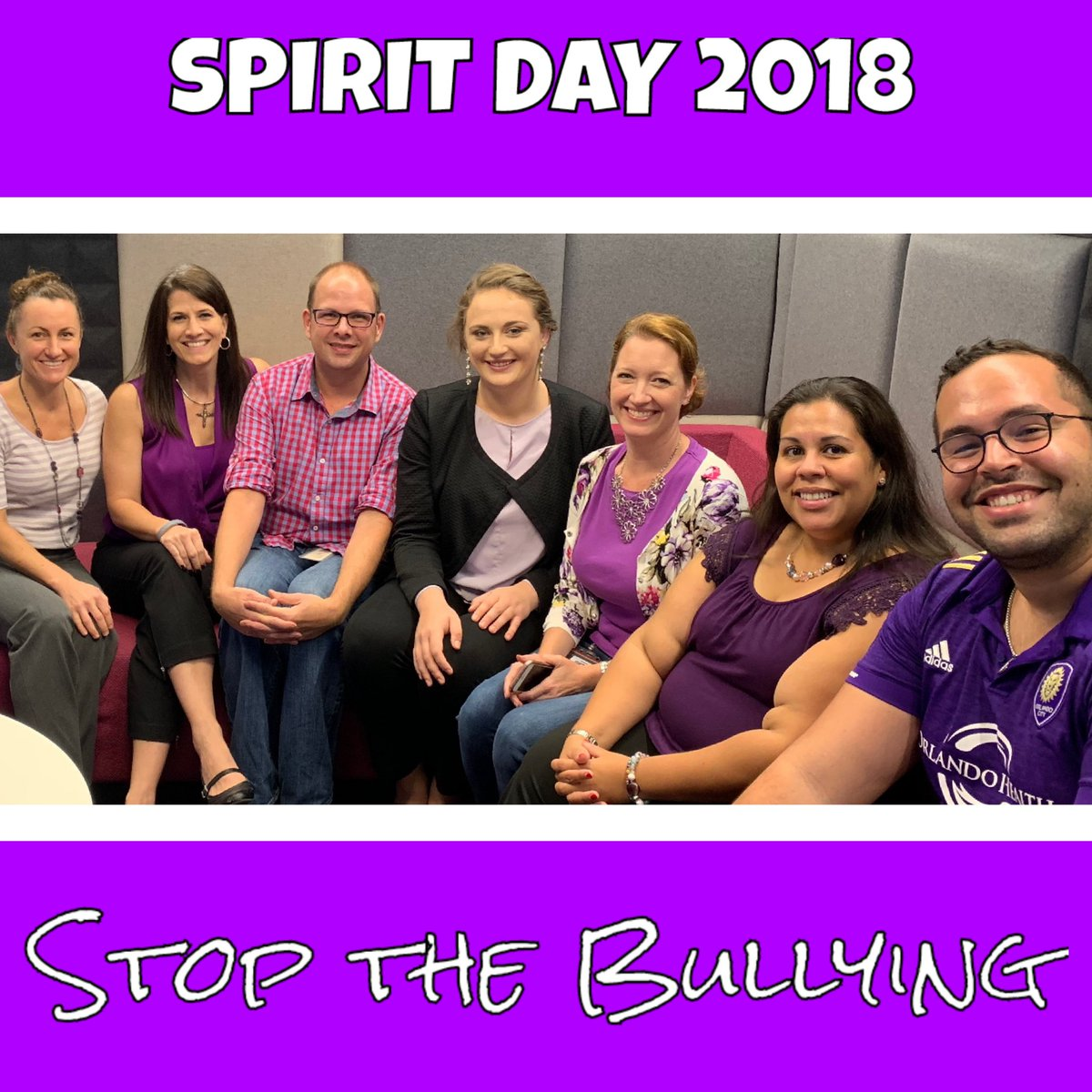 Love my office! Colleagues dressed in purple to support Spirit Day. Stop the bullying. Be an ally. #CitiAmbassador #LifeAtCiti #SpiritDay