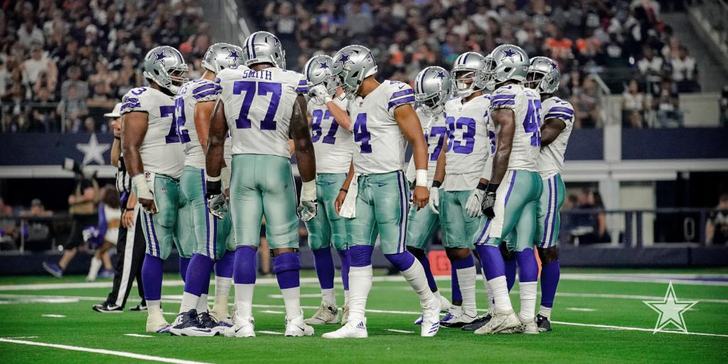 The #DallasCowboys offense addresses the 'elephant in the room.'  📰 https://t.co/RmqA3BhmS7