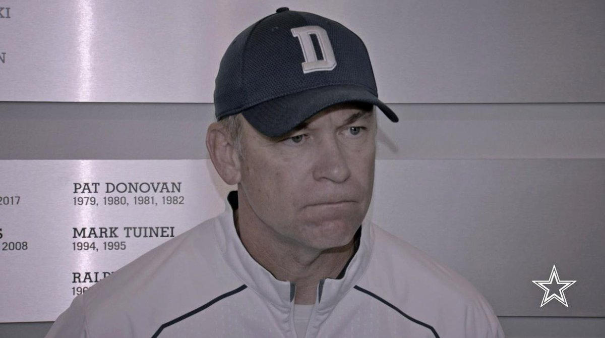 Offensive coordinator Scott Linehan was asked what the #DallasCowboys offense can do to give some help to Cole Beasley in the passing game.  🎥 https://t.co/oHMhEFdyJR