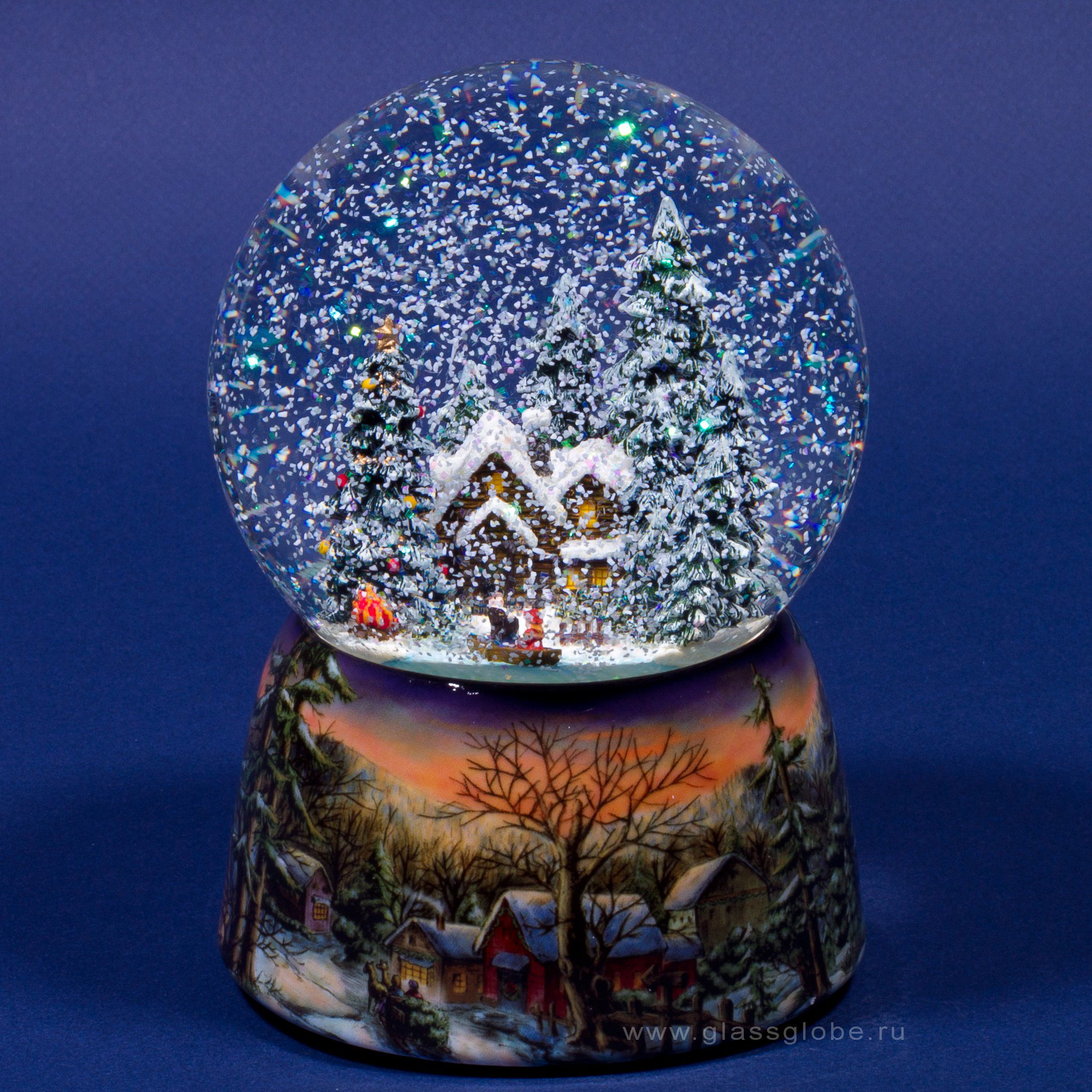 шар со снегом с фотографией внутри гармонь такой бренд