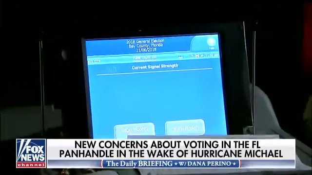 New concerns about voting in the Florida Panhandle in the wake of Hurricane Michael https://t.co/tsskP5O97C