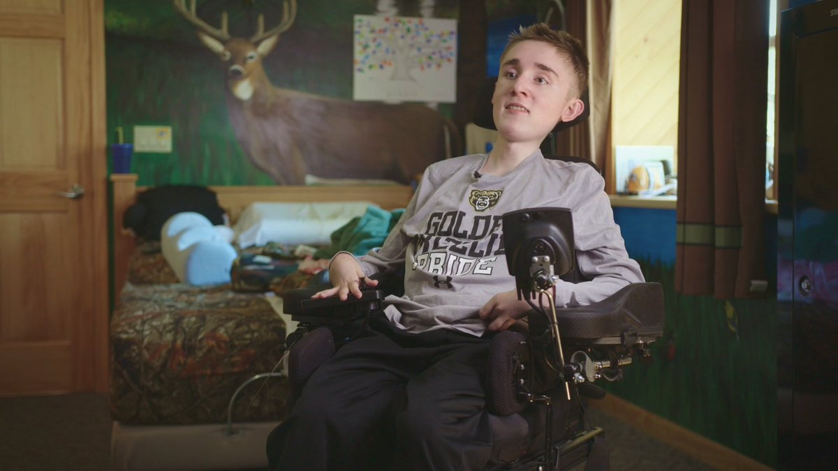 Most people think that just because youre in a chair, everythings disabled–but my main attribute is my mind. How 19-year-old Robbie Ivey uses Google Home to be more independent as he starts his first year of college → goo.gl/asFkZp #DisabilityAwarenessMonth