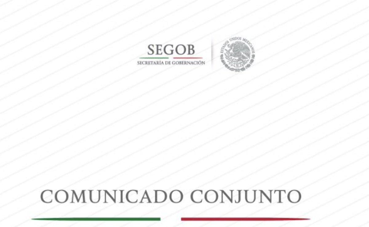 #ÚLTIMAHORA  Comunicado del Gobierno de México por el paso de la Caravana Migrante https://t.co/PyczO2IRdF