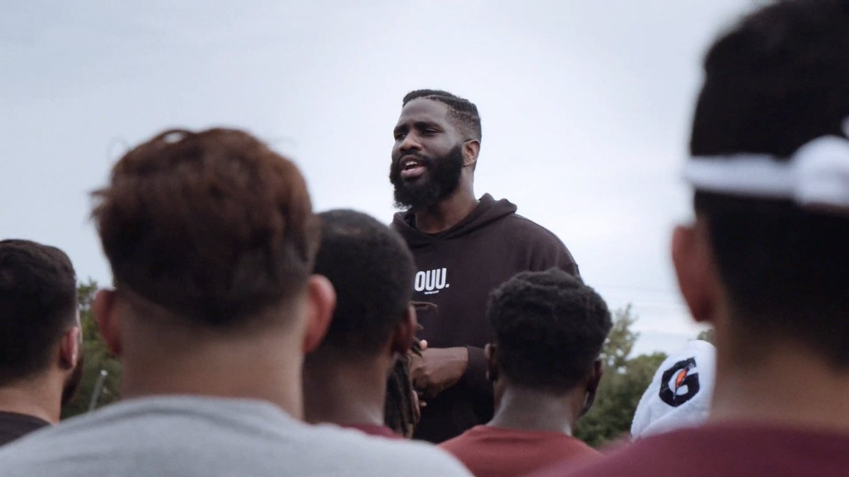Introducing Fueled.  👀 what fuels these 🏈 players from all over Houston to find common ground.
