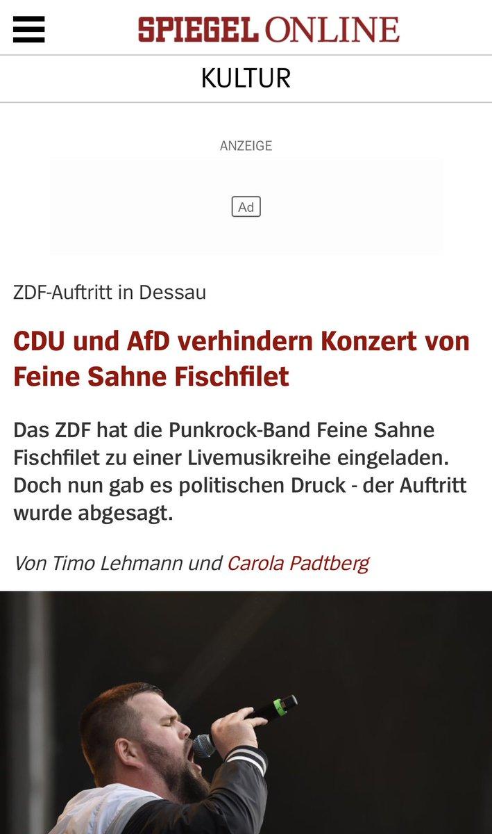 Fast könnte man bei dieser @SPIEGELONLINE Überschrift meinen, die CDU hätte hier mit der AfD gemeinsame Sache gemacht. Hat sie aber gar nicht. Wer bei irgendeinem Thema ähnliche Positionen wie die AfD vertritt, wird zunehmend in deren Ecke gestellt.
