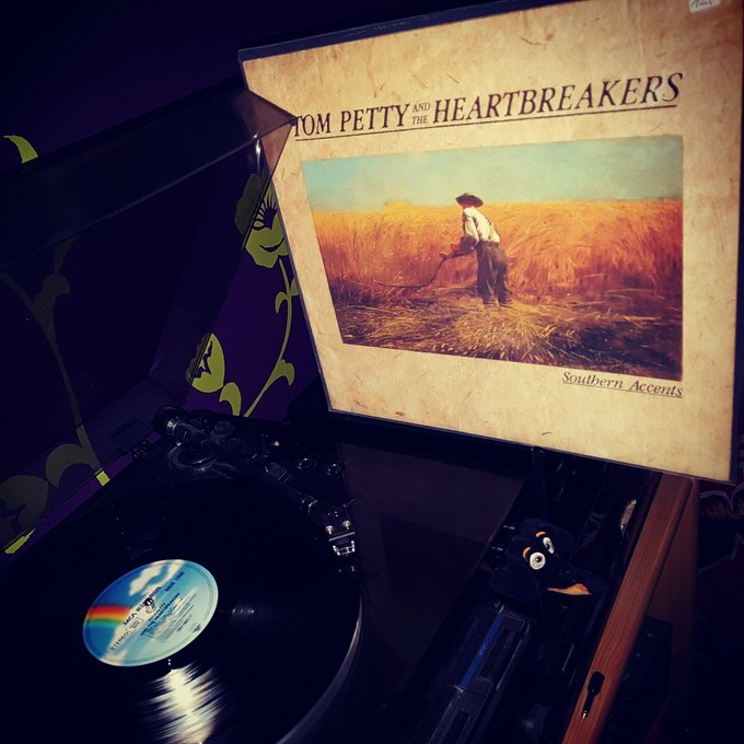 Happy Birthday RIP! Tom Petty and the Heartbreakers - Southern Accents ( MCA/1985)