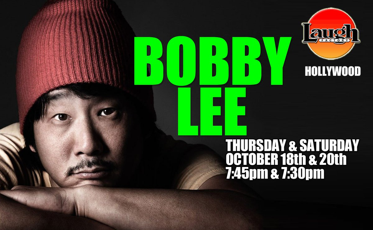 #comedy #TheLaughFactory #Hollywood @bobbyleelive hits the stage - BUY TICKETS HERE: laughfactory.com/BobbyLee