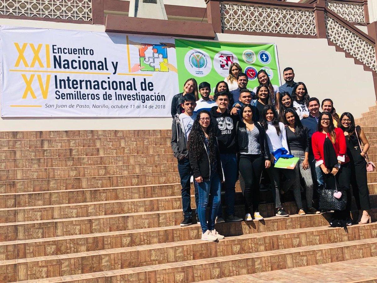 UNIBAGUÉ: Semilleros participaron en Encuentro Nacional e Internacional de RedCOLSI - UNIBAGUÉ