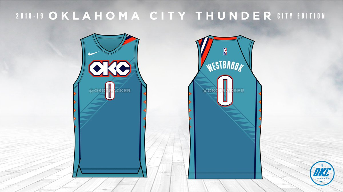 5bc5ebd92 Got a full look at Oklahoma City s City edition jersey today. Most notably