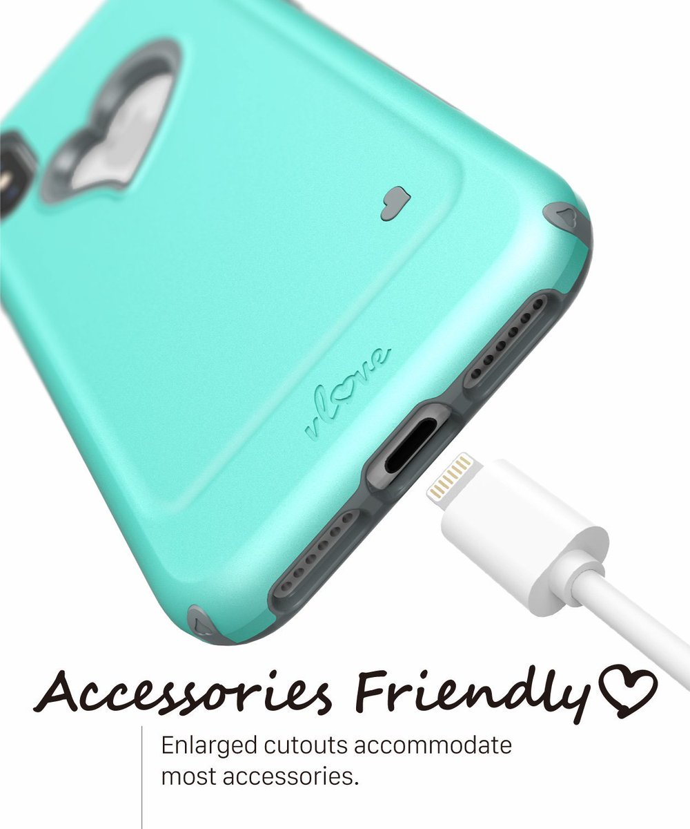 vLove for iPhone XS / X are very accessory friendly with enlarged cutouts to accommodate most accessories. https://t.co/8AumOcRRYQ  #vlove #iphonex #iphonexs #iphone #iphone2018 #accessories #phoneaccessories https://t.co/1jf4k2iW62