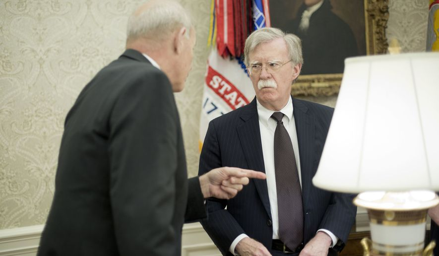 John Kelly, John Bolton get into obscenity-laced shouting match outside Oval Office https://t.co/WCEykSD8HY https://t.co/ebYCGWetDq