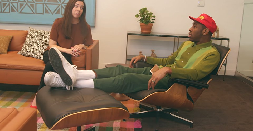 Tyler, the Creator will finally launch his own home furniture line next year:   ��️����  https://t.co/3j4t2POMJa https://t.co/YFFiJRhDBk