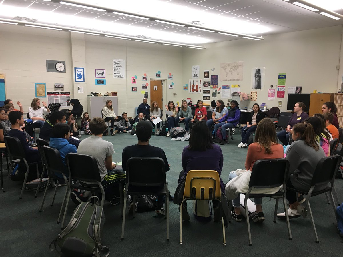 NJHS Socratic Seminar with guest speakers from Doorways for Women and Children - So proud of our members for asking such well crafted questions! <a target='_blank' href='http://twitter.com/JeffersonIBMYP'>@JeffersonIBMYP</a> <a target='_blank' href='http://twitter.com/APSGifted'>@APSGifted</a> <a target='_blank' href='https://t.co/nCQG7FkXiJ'>https://t.co/nCQG7FkXiJ</a>