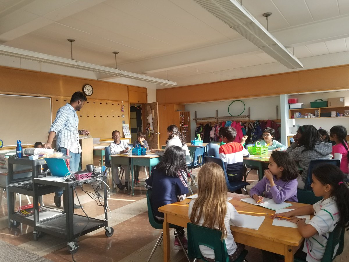 Excited to see how many #Grade3 students showed up for our after school #MathClub! @GlenRavineJrPS @MrAmbi_TDSB @DZervas_TDSB @SChan_TDSB @LC3_TDSB #Numeracy #GrowthMindset