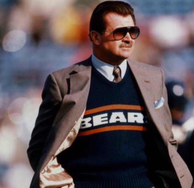 Happy Birthday to Mike Ditka, who could wear anything and make it look badass