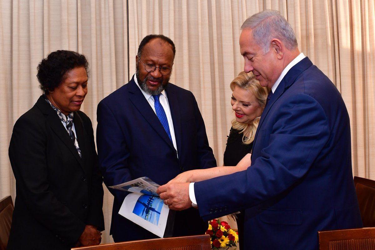 Prime Minister Netanyahu and Vanuatu Prime Minister Salwai agreed to continue strengthening bilateral cooperation in various fields.