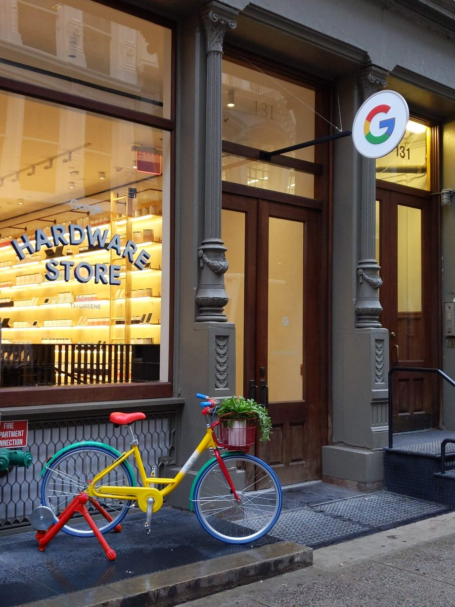 Whats popping in NYC and Chicago? Our Google Hardware Store! With all the tools you need to make your life easier at home, at work, and on-the-go, pedal over now to our #googlepopup → g.co/hardwarestore