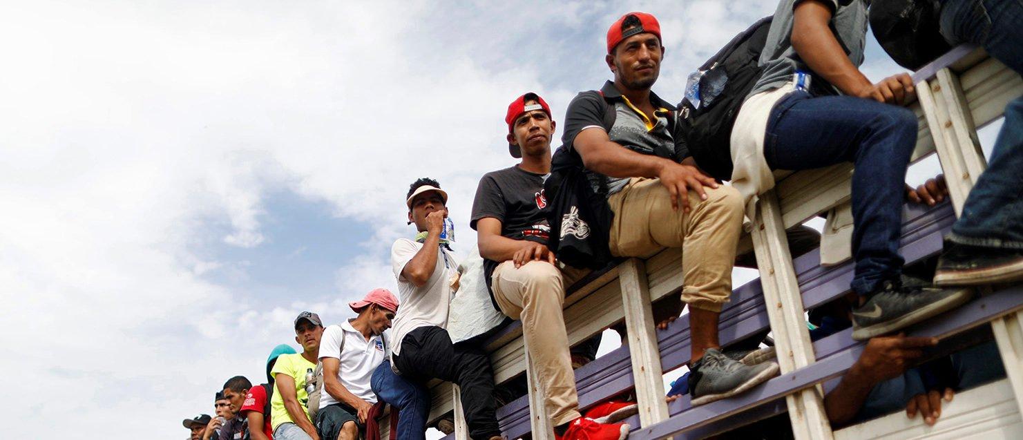 Honduras, Guatemala Look To Halt US-Bound Migrant Caravan After Trump Threats https://t.co/IZJ6PQyLwq https://t.co/rzX5hCZOmC