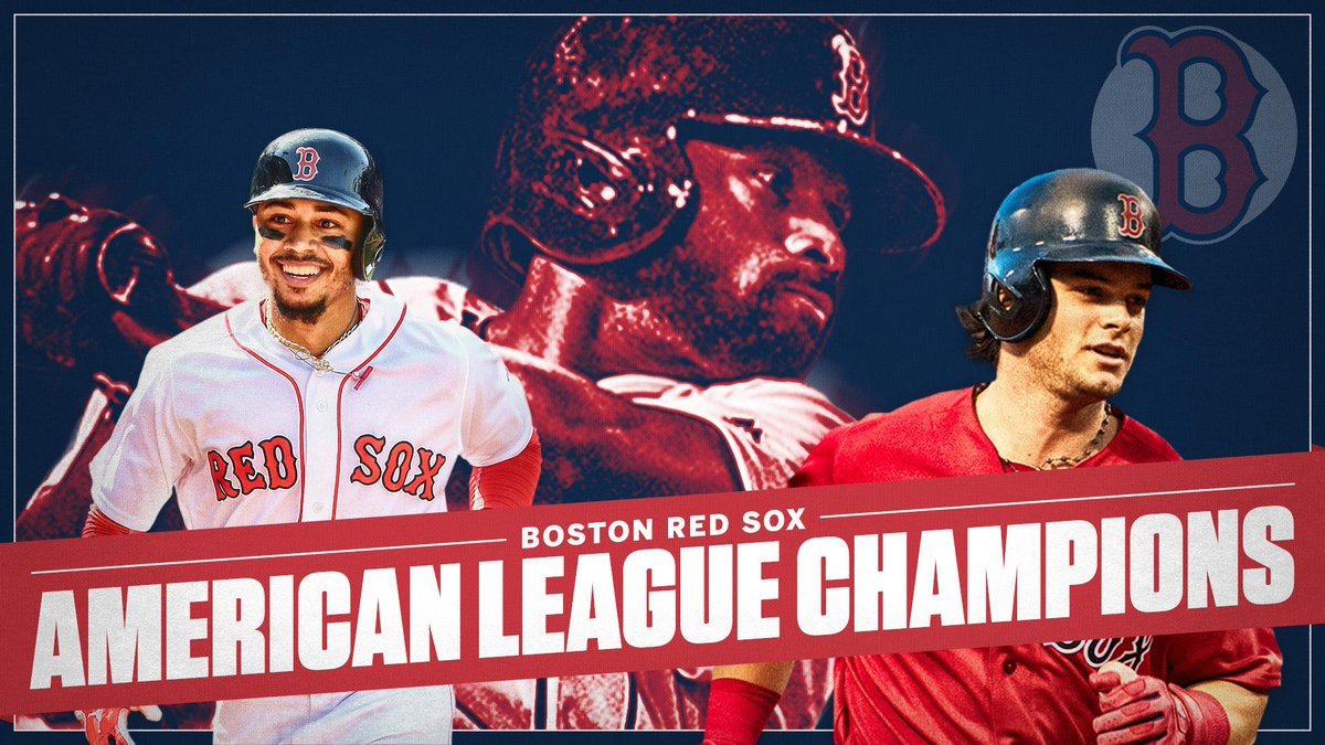 Killer B's! The @RedSox are World Series-bound behind the clutch play of their young outfield trio.