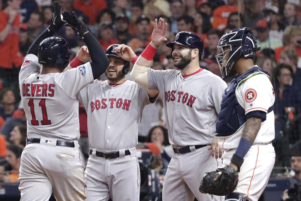 Red Sox heading to World Series after dispatching defending champs https://t.co/gBxNu8Zvb9