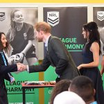 Prince Harry and Meghan Markle join NRL's In League In Harmony program
