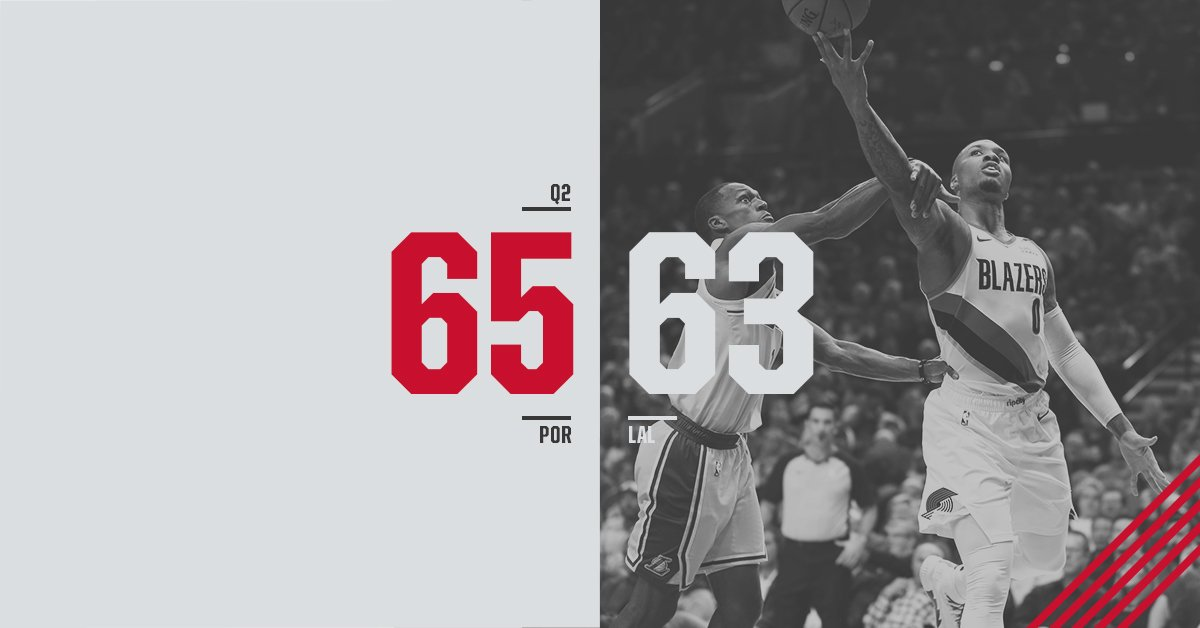 Many points were scored.  @NStauskas11 with 16p @Dame_Lillard with 13p