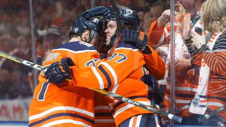 McDavid sets up Draisaitl for OT winner as Oilers edge Bruins. https://t.co/ZGcDwRdI5e