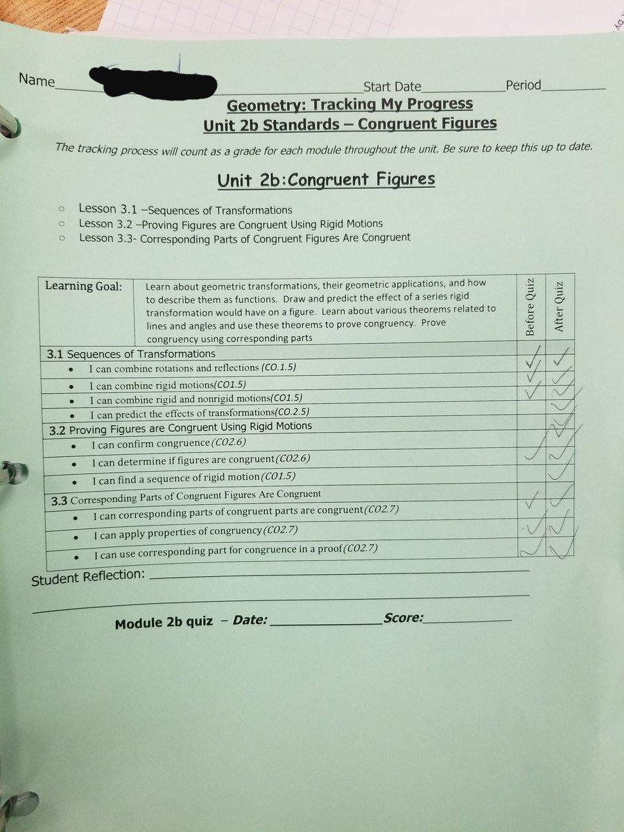 Geometry Module 3 Lesson 3