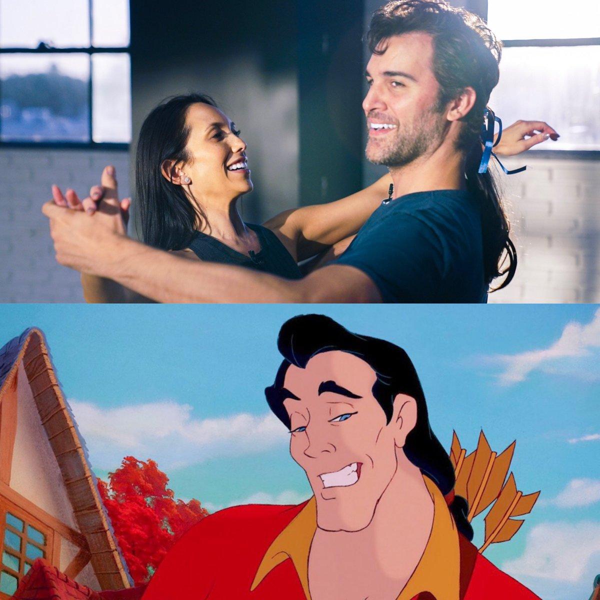 How perfect is @juanpablodipace as Gaston?!  #DWTS #Disneyweek #Beautyandbeast