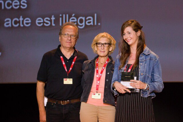#throwback to #visapourlimage2018 to when @StrekKasia (Collectif Item) received the Camille Lepage Award 2018, supported by SAIF & Association Camille Lepage. This award will enable her to carry out her report on #Egypt, where #abortion is #illegal, & the consequences of the ban