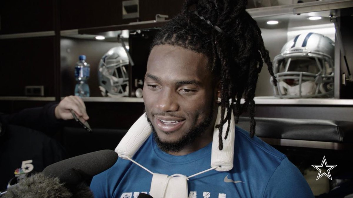 'We play in the best division.' LB Jaylon Smith speaks on playing in the NFC East, the challenges that the Redskins present + more.  🎥 https://t.co/fEjxKzf8NH