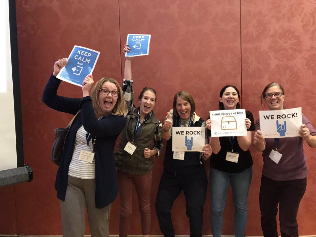 They Broke Out! #MANS2018 @breakoutEDU