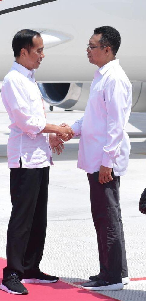 Gaya Jokowi dan Gubernur NTB