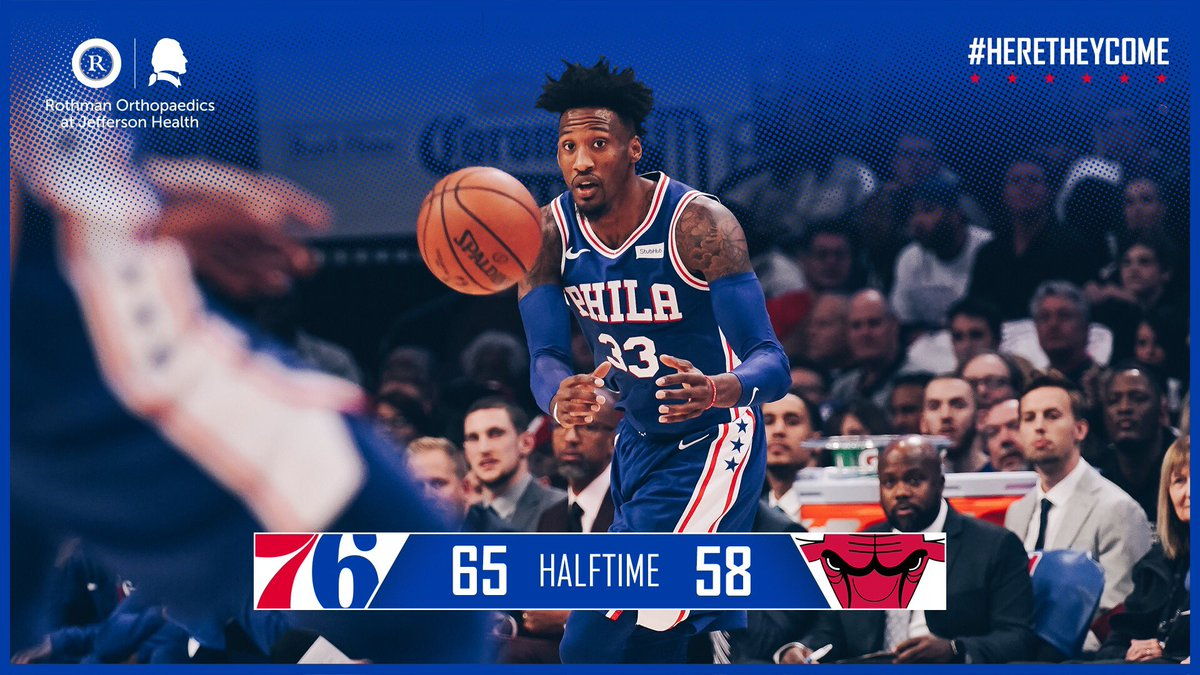 On top after two! #HereTheyCome 📺: @NBAonTNT | 📻: @975TheFanatic