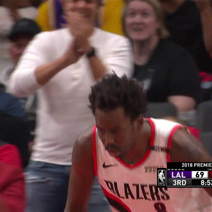 .@farouq1 is out here catchin' bodies ��  #RipCity https://t.co/uLeluMOI8f