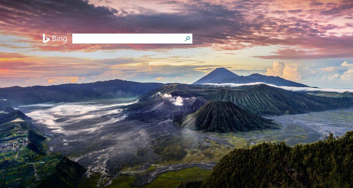 """টুইটারে Bing 日本版: """"[今日のホームページ] インドネシア ..."""