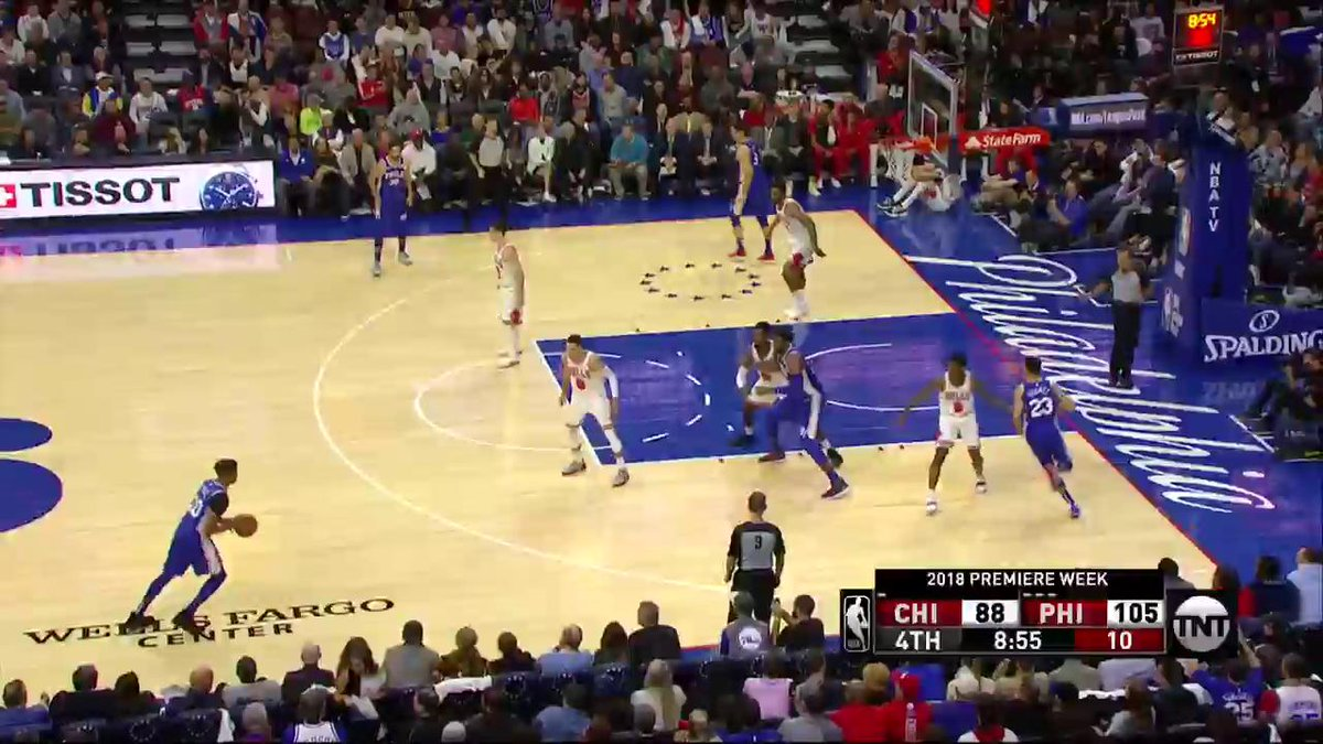 Markelle Fultz's made 3-pointer was the second biggest Philly sports event of the year
