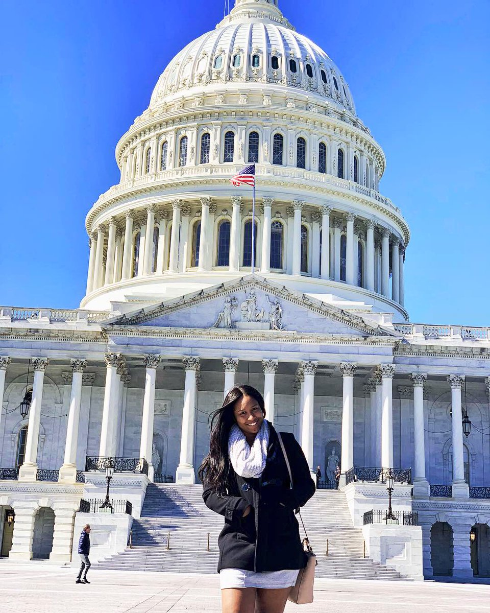 dripping melanin all over the U.S Capitol