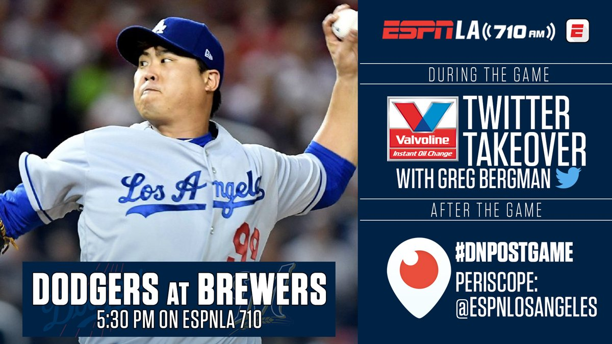 LET'S. GO. #DODGERS. ����������  LISTEN to NLCS Game 6 on ESPNLA 710 and https://t.co/Wda75J3NBi #LADetermined https://t.co/papUNdWWIN