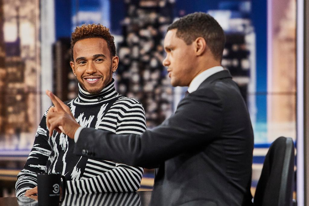 TONIGHT: @F1 World Champion @LewisHamilton is here!