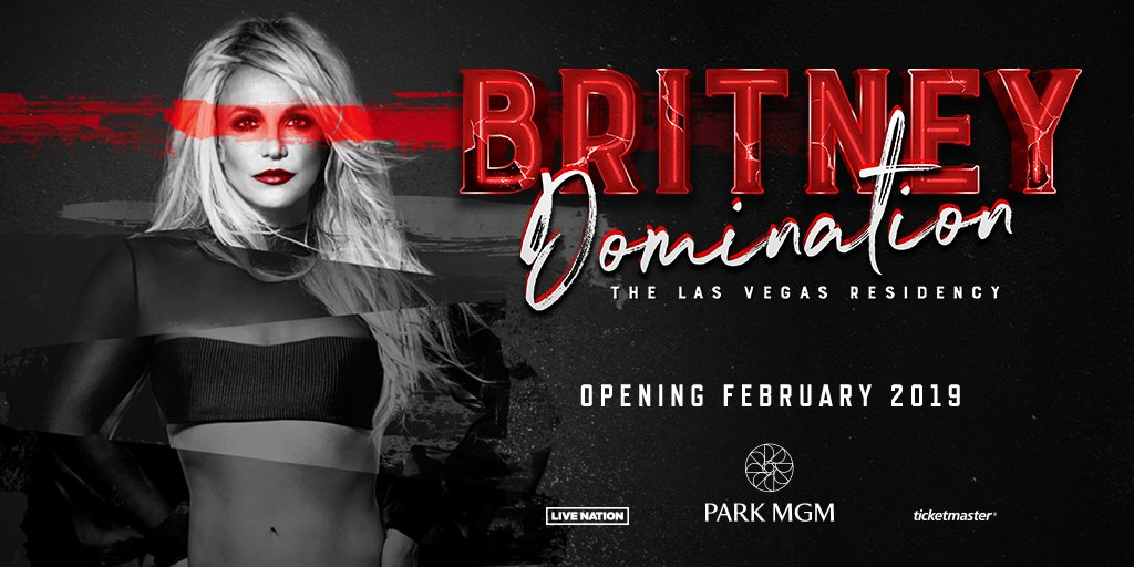 You said gimme more, so here you go! @britneyspears arrives to @ParkTheaterLV this February, get your tix: https://t.co/Vq9MAxQsLq #BritneyDomination