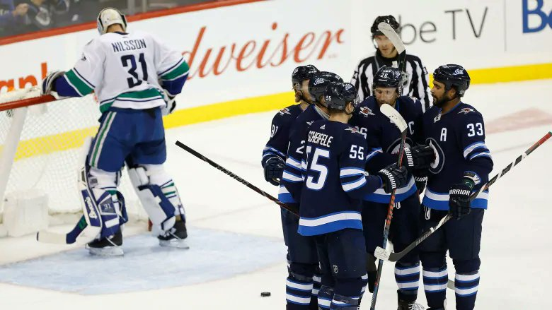Power-play goals from Laine, Little lift Jets past Canucks https://t.co/AofBgcz8ov