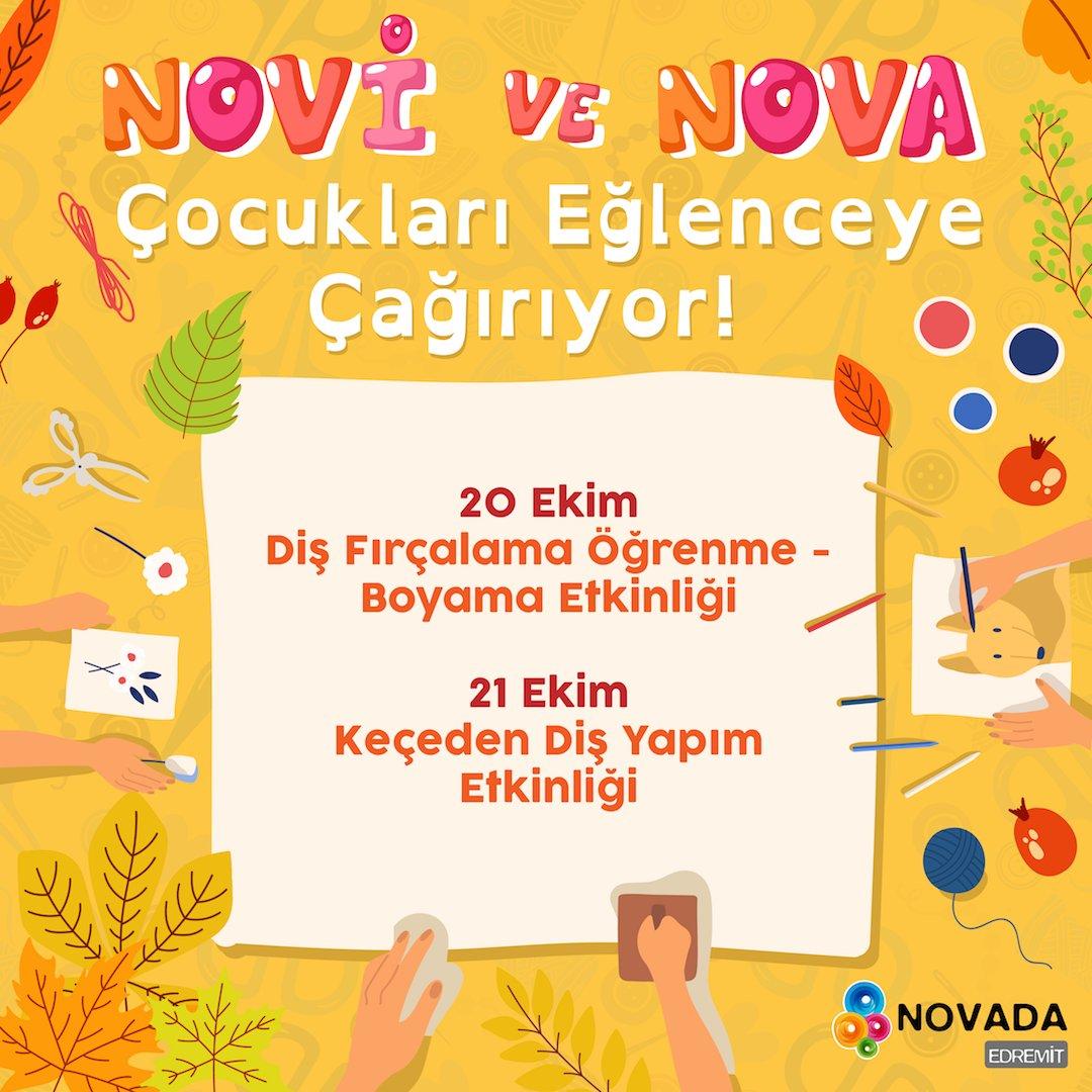 Novada Edremit On Twitter Novi Ve Nova Ile Eğlence Zamanı 20 Ekim