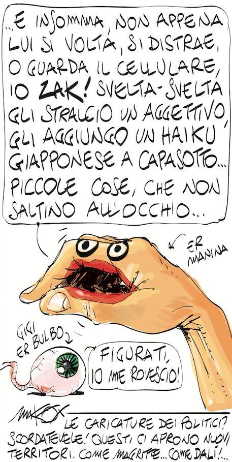 Meraviglioso @makkox su @ilfoglio_it