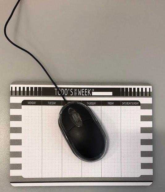 test ツイッターメディア - パッと思いついた時にサッと書き込めるマウスパッドです。 これ、すごく便利ですよ。  #キャンドゥ #100均 #メモマウスパッド #メモ https://t.co/aZYW2v2zth