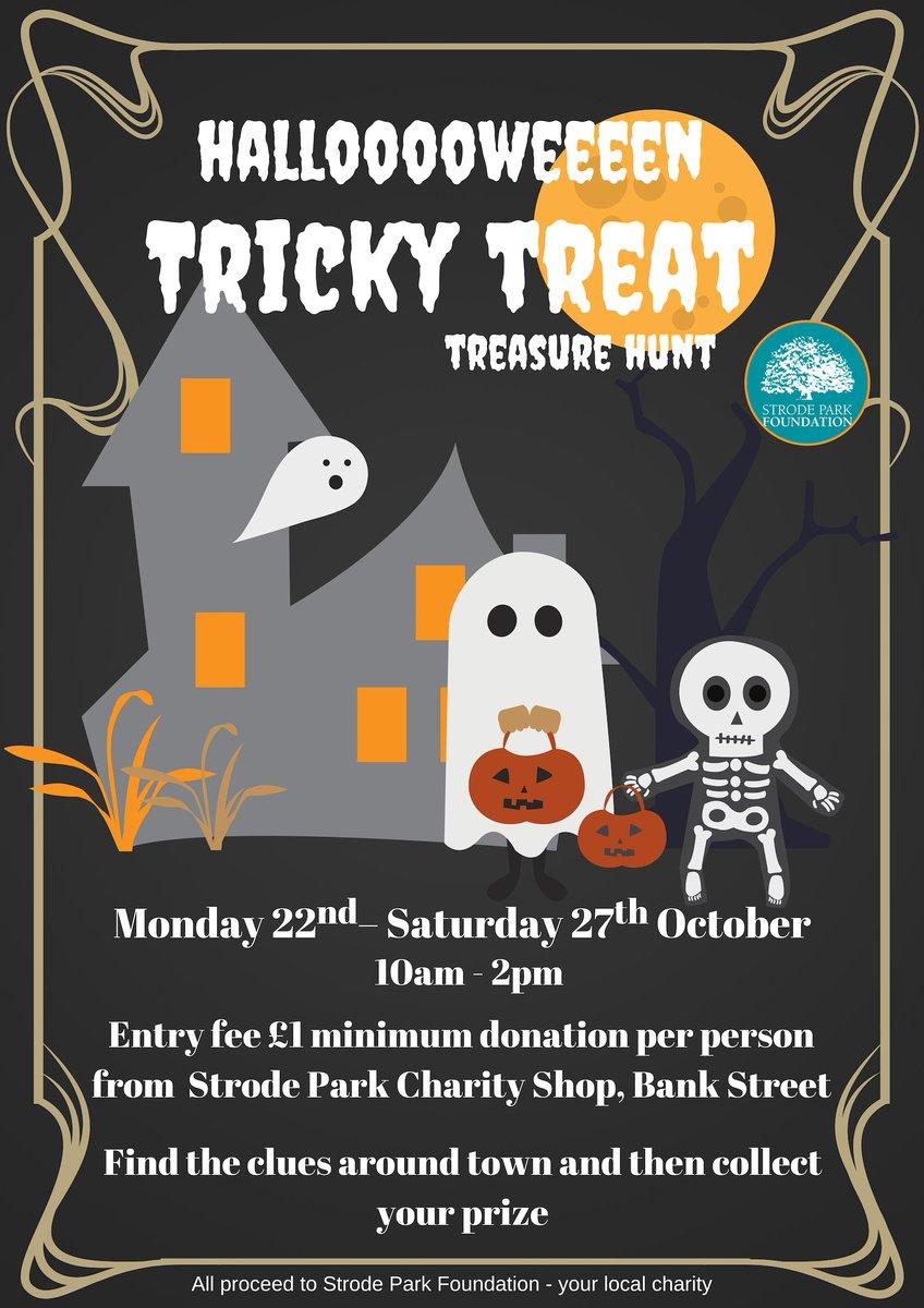 Strode Park Foundation On Twitter Some Halfterm Halloween Fun For The Children Next Week Trickytreat