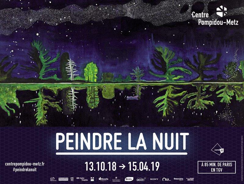 #expos - Cet #hiver, le @PompidouMetz explore les profondeurs de la #nuit et ses nombreuses #lumières avec l\
